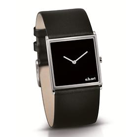 Armbanduhr Square schwarz/silber