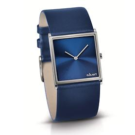 Image of Armbanduhr 'Square' blau