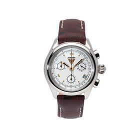 Chronograph Himalaya Pearls weiß/braun