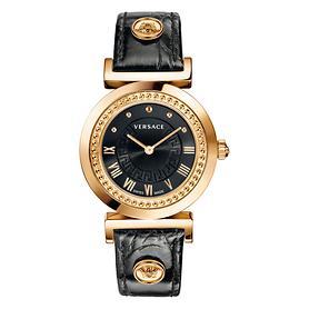 Armbanduhr Vanity schwarz