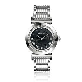 Armbanduhr Versace Vanity silberfarben