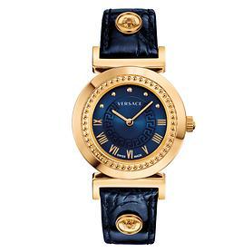 Damenuhr Versace Vanity blau