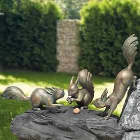 Skulpturen Eichhörnchen