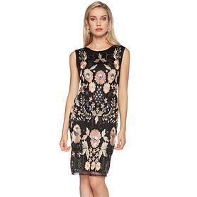 Kleid Rose Gr. XL (44/46)