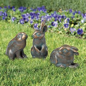 Skulpturen Kaninchen
