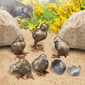 Skulpturen Nestflüchter