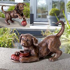 Skulpturen Hund