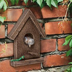 Skulptur Vogelhäuschen