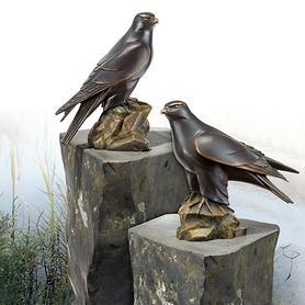Skulpturen Gerfalke