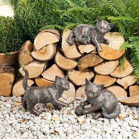 Skulpturen Kätzchen