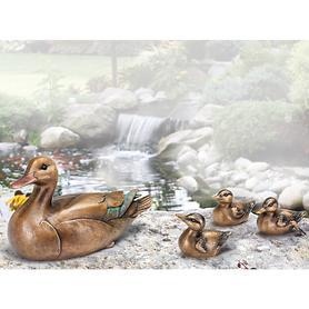 Skulpturen Entenmutter & Küken