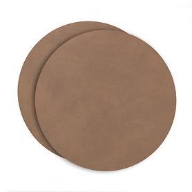 Platzset tableMAT 2er-Set braun rund