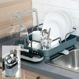 Geschirr- und Besteck-Abtropfregale Holster