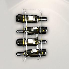 Wand-Weinregal ARNO für 4 Flaschen