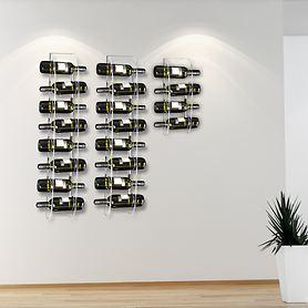 Wand-Weinregal ARNO aus Acryl