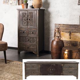 Sideboard und Schrank Vintage