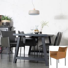 Armlehnen-Stuhl Dion