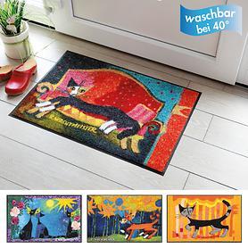 Design-Fußmatten von Rosina Wachtmeister
