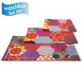 Wash+Dry Matten Trendy Patchwork