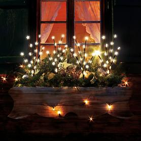 LED-Leuchtstab Sterne4er-Set