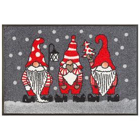 Fußmatte Weihnachtszwerg 50 x 75 cm