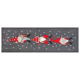 Läufer Weihnachtszwerge 60 x 180 cm