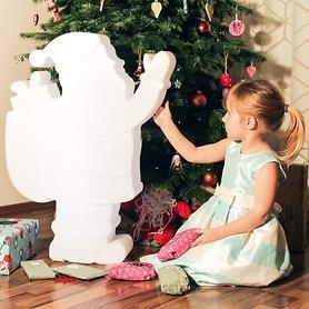 Leuchtfigur Weihnachtsmann