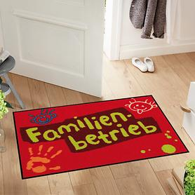 Fußmatte Familienbetrieb