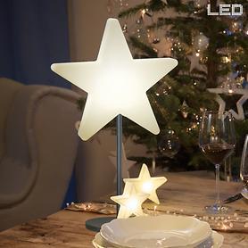 LED-Stand-Stern mit Akku
