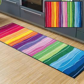 Teppichläufer & Fußmatte Wavy Lines