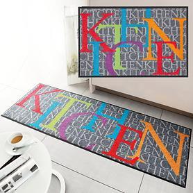 Waschbarer Teppichläufer und Fußmatte  Kitchen News