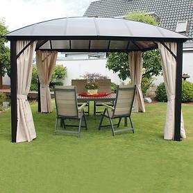 """*NEU*: Gartenpavillon """"Mendoza"""" aus Aluminium, anthrazit"""