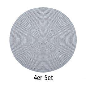 Tischset Samba beton 4er-Set