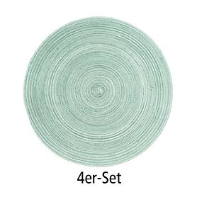 Tischset Samba jade 4er-Set