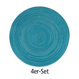 Tischset Samba lagune 4er-Set
