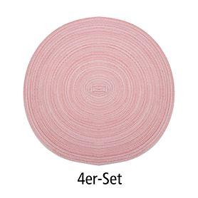 Tischset Samba peach 4er-Set