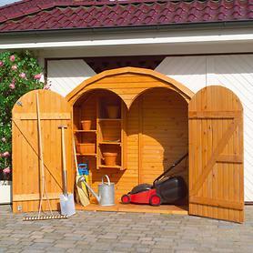 Geräteschrank 'Roma', 2-türig (Abb. 2) | Garten > Gerätehäuser | Promadino