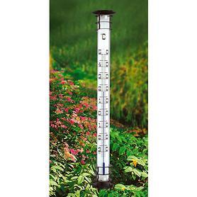 *NEU*: Gartenthermometer auf Metall und Acryl, weiß/schwarz