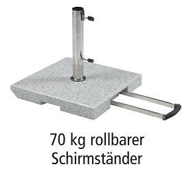 Rollbarer Granitständer 70 kg