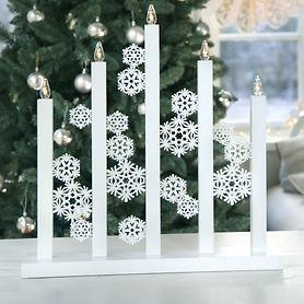 LED-fensterleuchter Snowfall