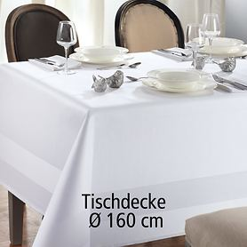 Tischdecke Atlas D 160