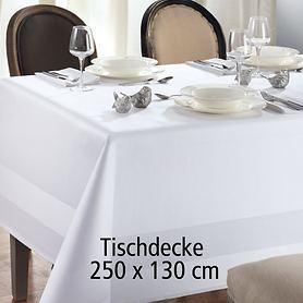 Tischdecke Atlas 250x130