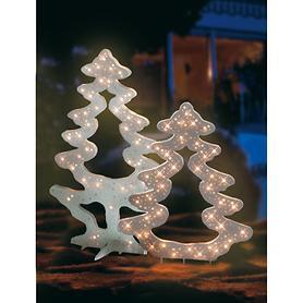 Weihnachtliche Leuchtfiguren