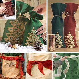 Dekobänder und Geschenkverpackungen
