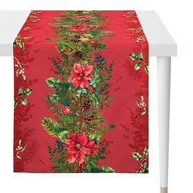 Tischläufer Weihnachtsgirlande