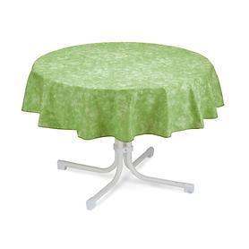 Tischdecke Milo, rund, D:130 cm, grün