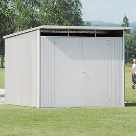 Image of XL-Gartenhaus 'AvantGarde', silber