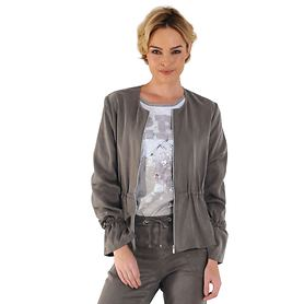 Leichtjacke Denise taupe Gr. 34