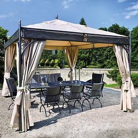 Schmiedeeisen-Pavillon Chalet