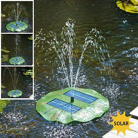 Solar-Teichpumpe Seerose
